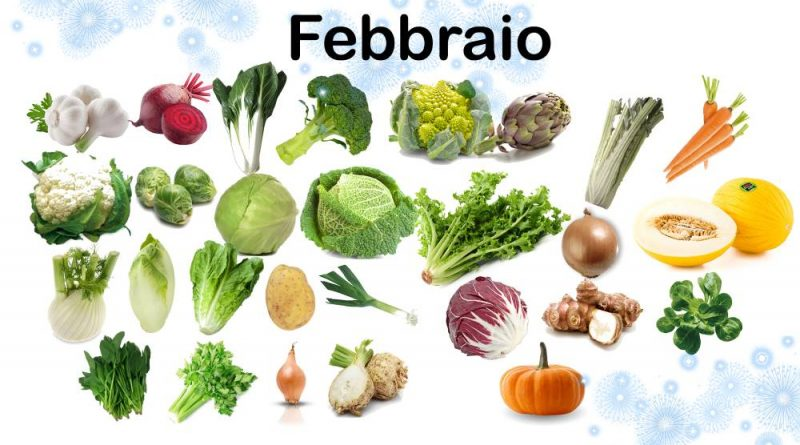 L'orto del mese di Febbraio